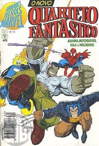 Grandes Heróis Marvel [Abril - 1s] nº 045 set/1994 - O Novo Quarteto Fantástico