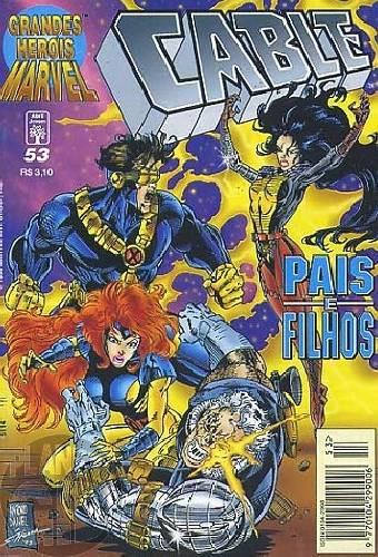 Grandes Heróis Marvel [Abril - 1s] nº 053 set/1996 - Cable