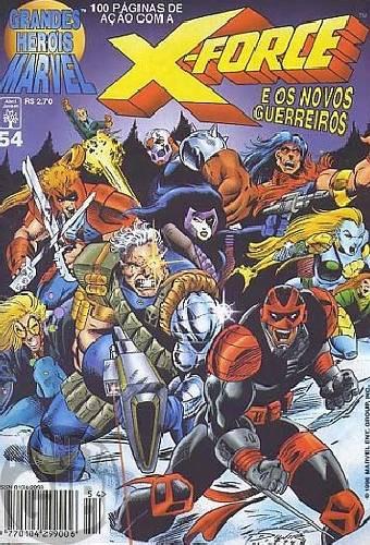 Grandes Heróis Marvel [Abril - 1s] nº 054 dez/1996 - Os Novos Guerreiros