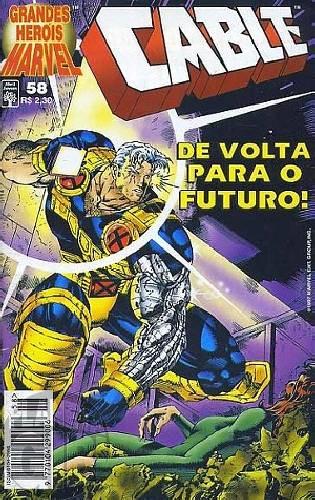 Grandes Heróis Marvel [Abril - 1s] nº 058 dez/1997 - Cable