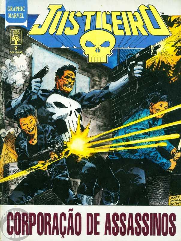Graphic Marvel [Abril] nº 002 jul/1990 - Justiceiro: Corporação de Assassinos