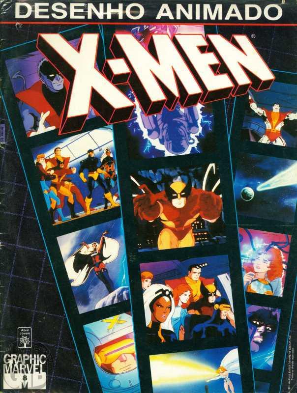 Graphic Marvel [Abril] nº 008 ago/1991 - Desenho Animado X-Men: Kitty Pryde: O Orgulho dos X-Men