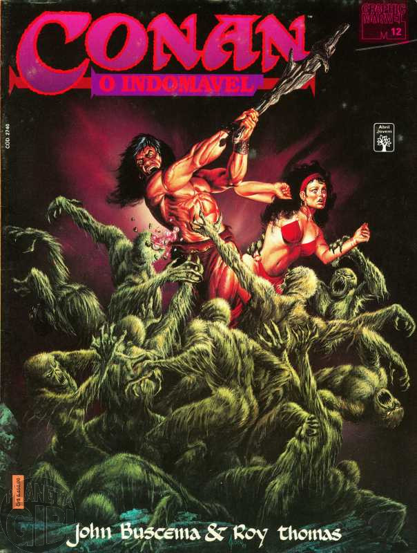 Graphic Marvel [Abril] nº 012 abr/1992 - Conan O Indomável