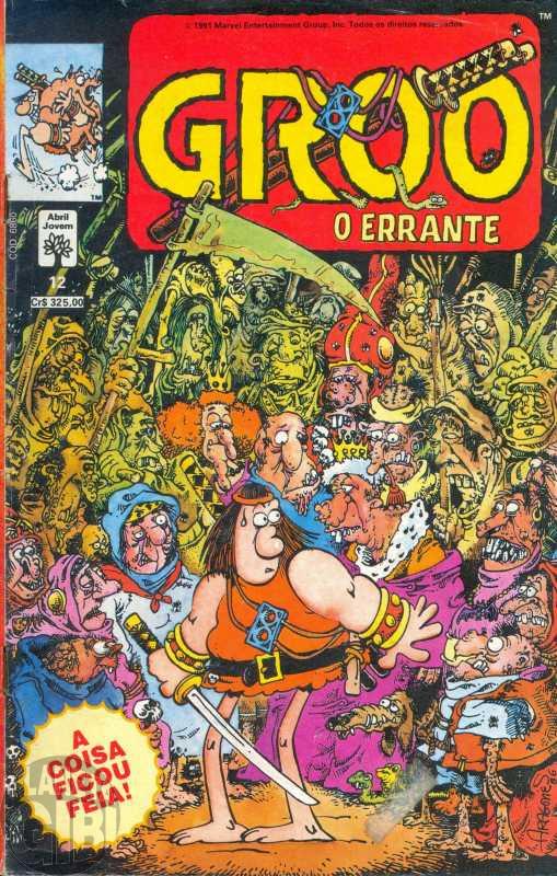 Groo O Errante [Abril] nº 012 abr/1991