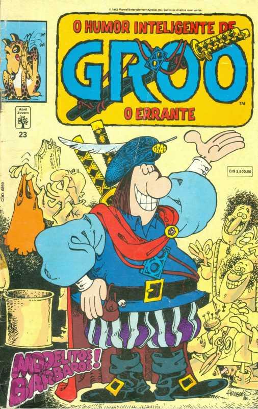 Groo O Errante [Abril] nº 023 mar/1992 - Leia os detalhes abaixo