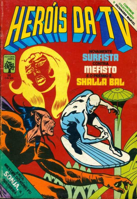 Heróis da TV [Abril - Marvel] nº 052 out/1983