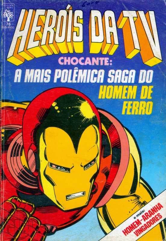 Heróis da TV [Abril - Marvel] nº 076 out/1985