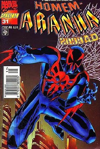 Homem-Aranha 2099 nº 031  abri/1996
