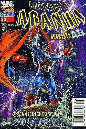 Homem-Aranha 2099 nº 032 mai/1996