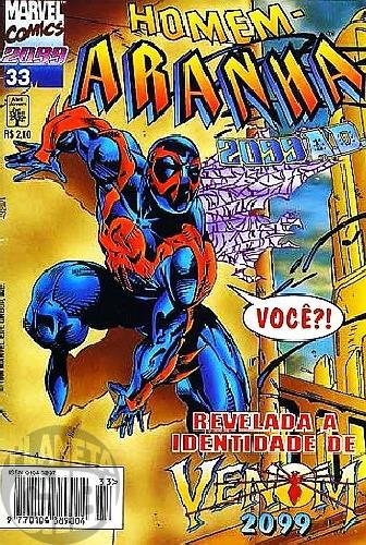 Homem-Aranha 2099 nº 033 jun/1996