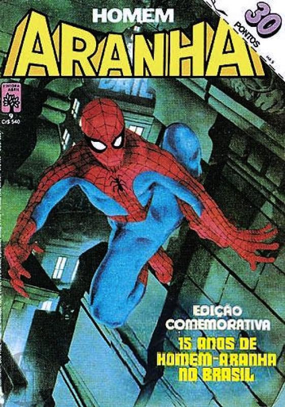 Homem-Aranha [Abril - 1ª série] nº 009 mar/1984