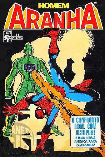 Homem-Aranha [Abril - 1ª série] nº 051 set/1987