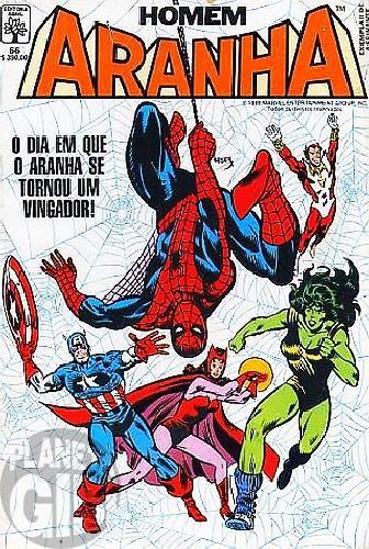 Homem-Aranha [Abril - 1ª série] nº 066 dez/1988