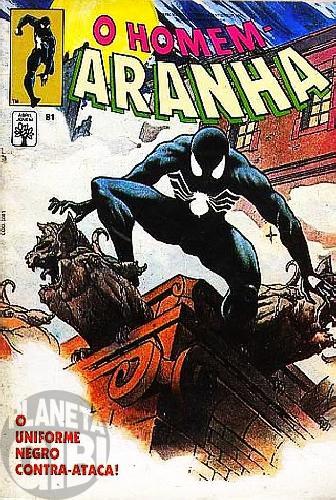 Homem-Aranha [Abril - 1ª série] nº 081 mar/1990