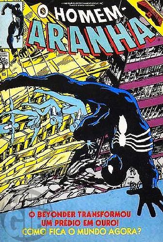 Homem-Aranha [Abril - 1ª série] nº 085 jul/1990
