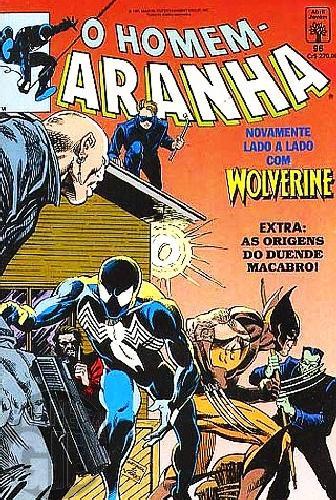 Homem-Aranha [Abril - 1ª série] nº 096 jun/1991