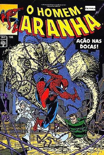 Homem-Aranha [Abril - 1ª série] nº 106 abr/1992