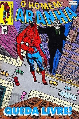 Homem-Aranha [Abril - 1ª série] nº 107 mai/1992