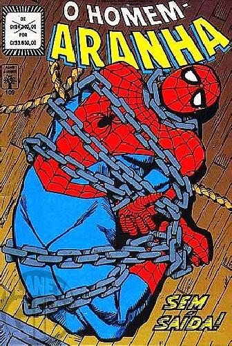 Homem-Aranha [Abril - 1ª série] nº 109 jul/1992