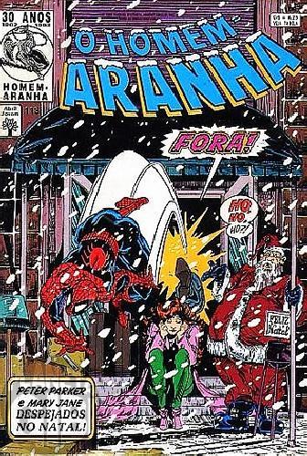 Homem-Aranha [Abril - 1ª série] nº 113 nov/1992