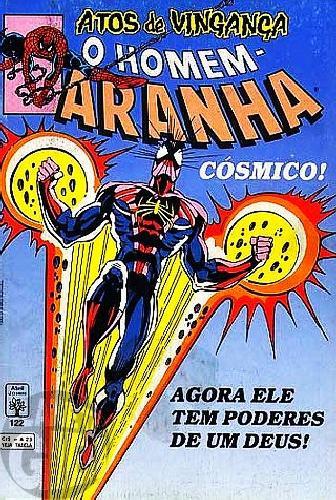 Homem-Aranha [Abril - 1ª série] nº 122 ago/1993