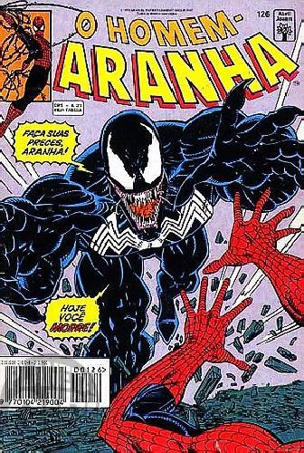 Homem-Aranha [Abril - 1ª série] nº 126 dez/1993