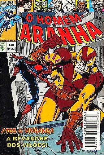 Homem-Aranha [Abril - 1ª série] nº 129 mar/1994