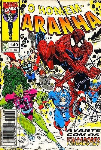 Homem-Aranha [Abril - 1ª série] nº 140 fev/1995