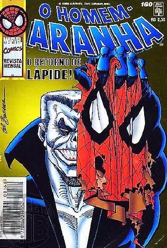 Homem-Aranha [Abril - 1ª série] nº 160 out/1996