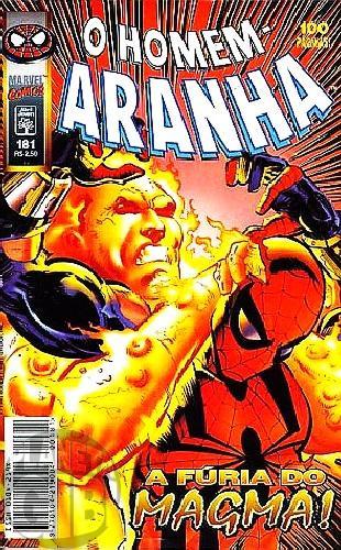 Homem-Aranha [Abril - 1ª série] nº 181 jul/1998
