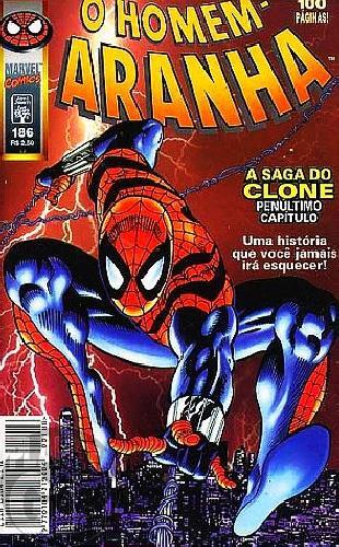 Homem-Aranha [Abril - 1ª série] nº 186 dez/1998