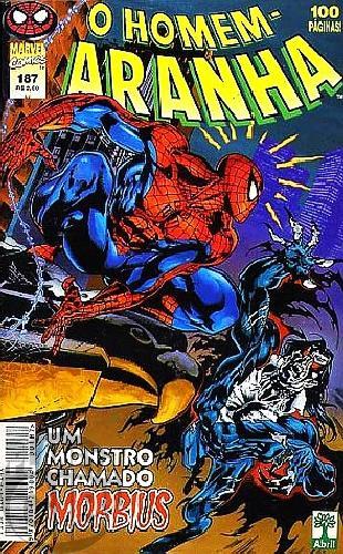 Homem-Aranha [Abril - 1ª série] nº 187 jan/1999