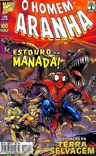 Homem-Aranha [Abril - 1ª série] nº 189 mar/1999