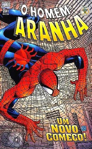 Homem-Aranha [Abril - 1ª série] nº 201 mar/2000