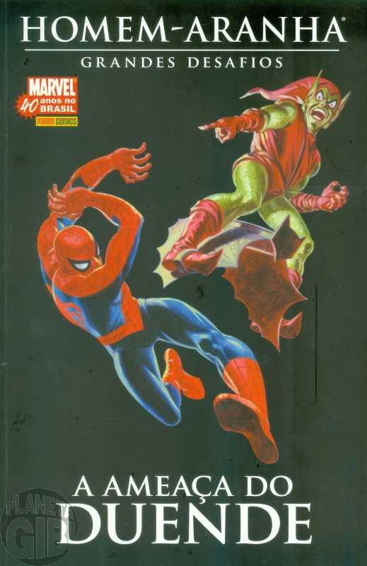Homem-Aranha Grandes Desafios [Panini] nº 003 jun/2007 - A Ameaça do Duende - Com Fac-Símile