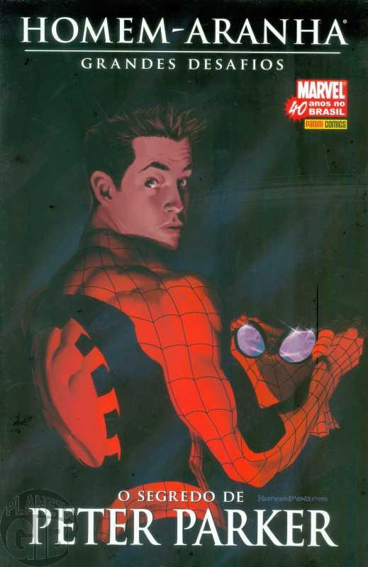 Homem-Aranha Grandes Desafios [Panini] nº 006 jul/2007 - O Segredo de Peter Parker - Com Fac-Símile