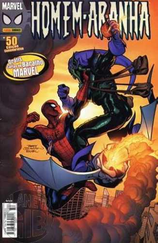 Homem-Aranha [Panini - 1ª série] nº 050 fev/2006 - Com Brinde Original