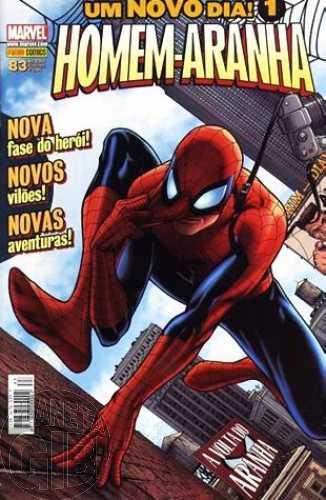 Homem-Aranha [Panini - 1ª série] nº 083 nov/2008 - Um Novo Dia!
