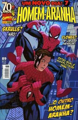 Homem-Aranha [Panini - 1ª série] nº 089 mai/2009 - Um Novo Dia!