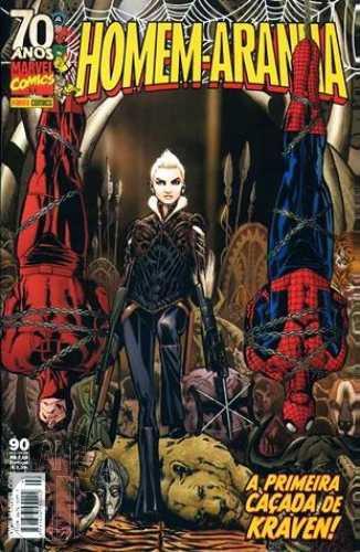 Homem-Aranha [Panini - 1ª série] nº 090 jun/2009 - A Primeira Caçada de Kraven