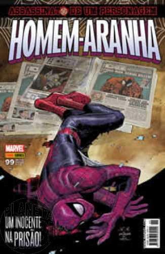 Homem-Aranha [Panini - 1ª série] nº 099 mar/2010 - Assassinato de um Personagem
