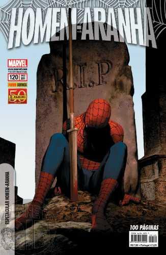 Homem-Aranha [Panini - 1ª série] nº 120 dez/2011 - Com Brinde Original