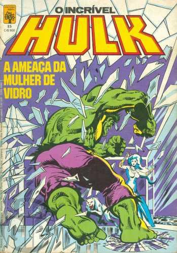 Incrível Hulk [Abril - 1ª série] nº 015 set/1984