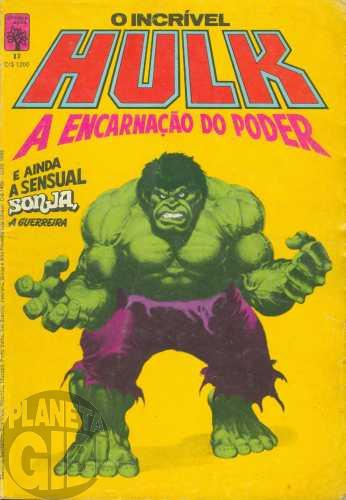 Incrível Hulk [Abril - 1ª série] nº 017 nov/1984