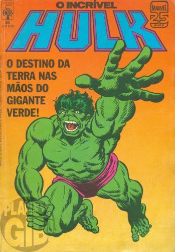 Incrível Hulk [Abril - 1ª série] nº 035 mai/1986