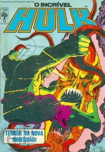 Incrível Hulk [Abril - 1ª série] nº 053 nov/1987