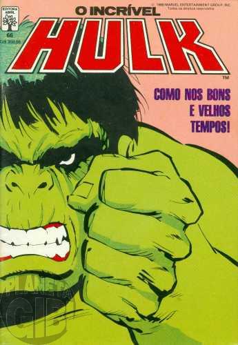 Incrível Hulk [Abril - 1ª série] nº 066 dez/1988