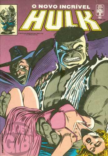 Incrível Hulk [Abril - 1ª série] nº 092 fev/1991