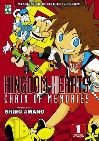 Kingdom Hearts Chain of Memories nº 001 jan/2014 - Leia dos detalhes abaixo
