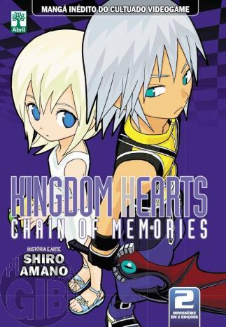 Kingdom Hearts Chain of Memories nº 002 fev/2014